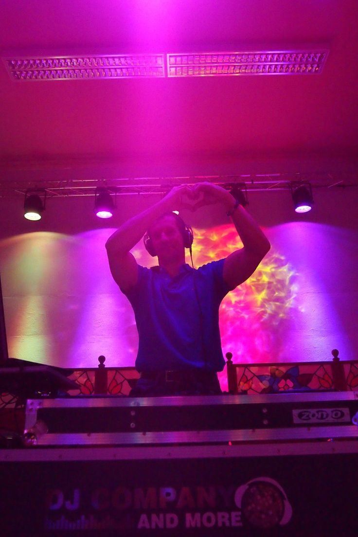 DJ Stefan showing some love @ Valentines Party, Hotel Elefant in Schwerin