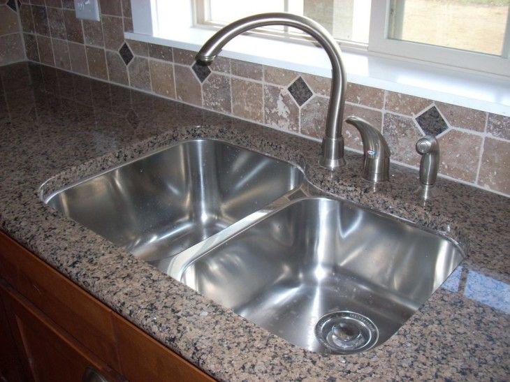 Kitchen Amazing Kitchen Design Ideas Using Stainless Steel Undermount - pictures, photos, images