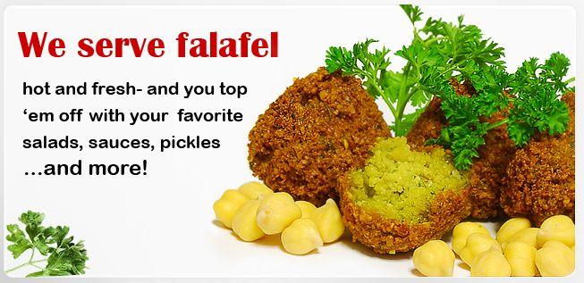Amsterdam Falafelshop. Simply, the best falafel.