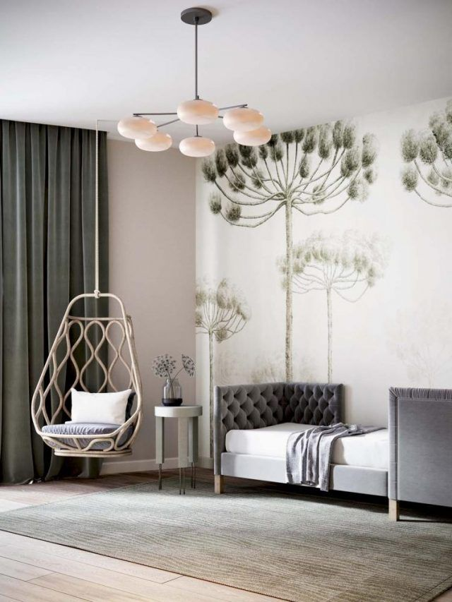 wonderful amusing bedroom decorating ideas   40+ Wonderful Home Interior with Pretty, Muted Pastel ...
