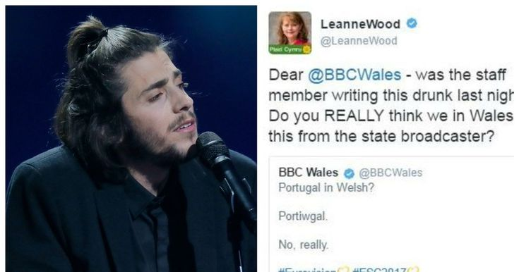 BBC under fire for controversial Welsh language tweet during Eurovision http://www.walesonline.co.uk/news/wales-news/bbc-under-fire-controversial-welsh-13032916?utm_campaign=crowdfire&utm_content=crowdfire&utm_medium=social&utm_source=pinterest