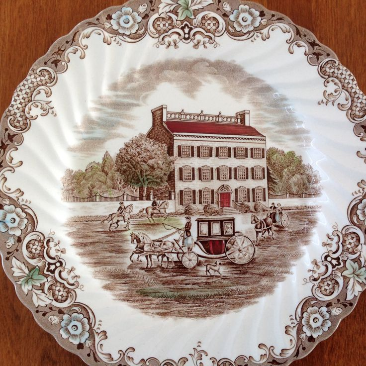"Johnson Bros HERITAGE HALL Town House 10"" Dinner"