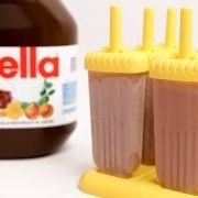 Nutella Popsicles Recipe - Laura in the Kitchen - Internet Cooking Show Starring Laura Vitale