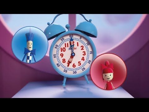▶ Apprends à lire l'heure avec Flik et Flak - YouTube - Telling Time In French