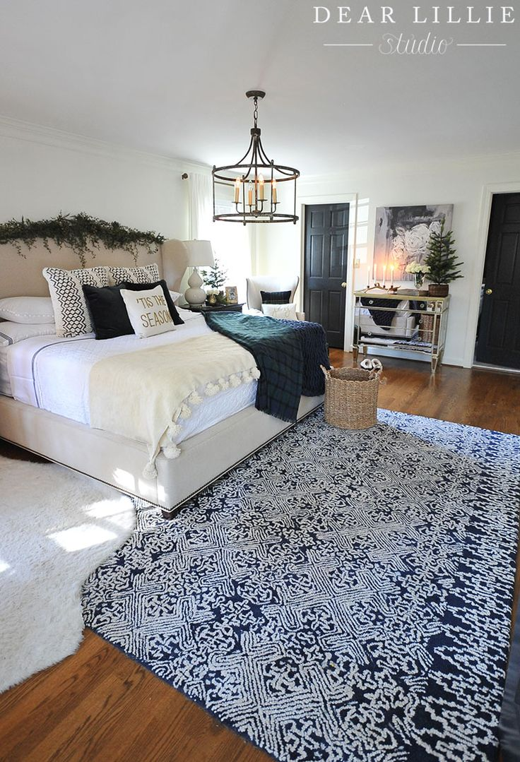 Seasons of Home – Some Christmas Touches in Our Master Bedroom - basic floor plan of our bedroom