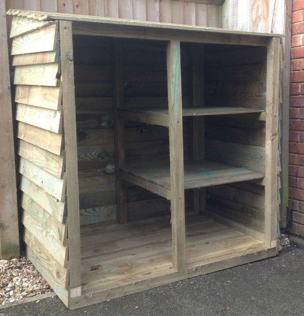 Somerset Wheelie bin and recycling storage - Somerset Garden Products