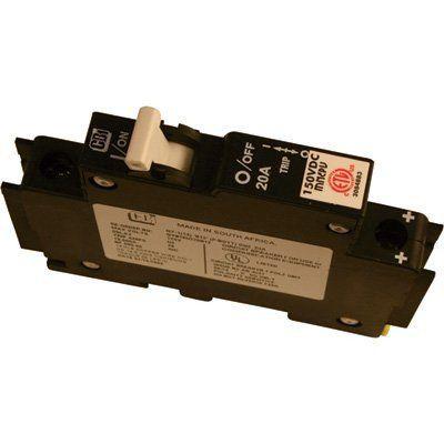 MidNite Solar Photovoltaic DC Circuit Breaker - 20 Amp, Model# MNEPV20 #MidnieSolar