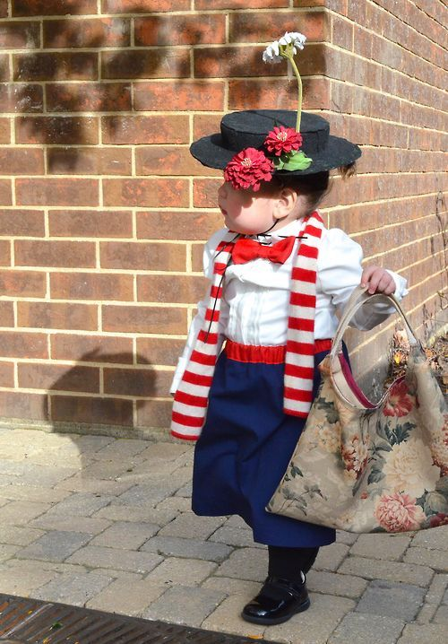 Mary poppins Costume for Toddlers / Kids