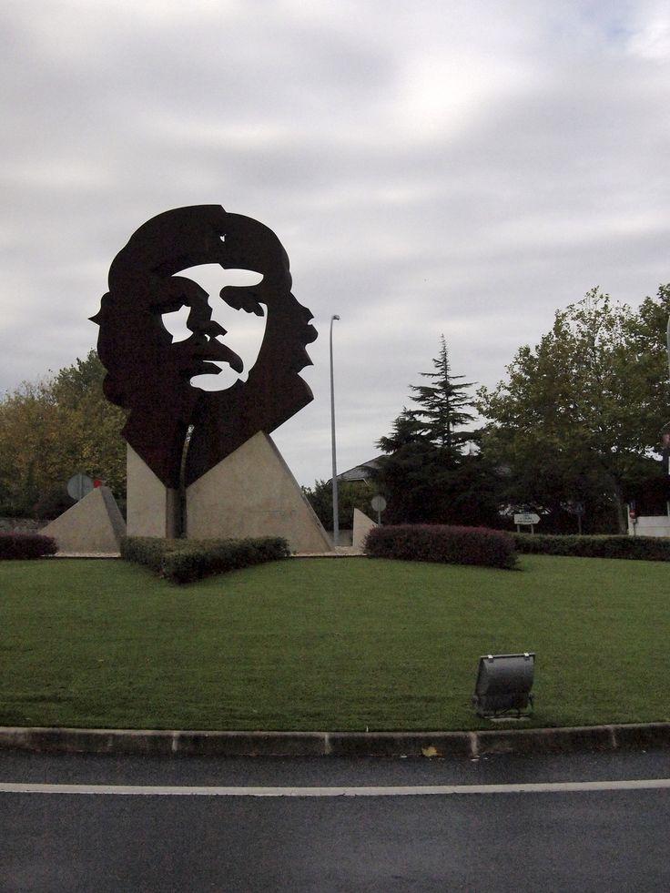 Rotonda del Che Guevara (Oleiros, La Coruña)