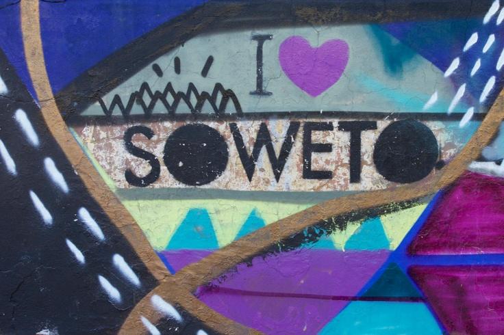 Street art in Soweto. photo by Ozwald Boateng #africa #art