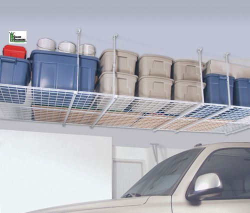 Garage Organization Shelving: Ceiling Mounted Storage Images On Pinterest