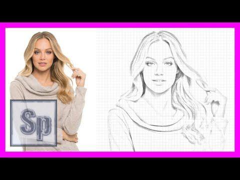 Photoshop - Convertir foto a dibujo a lápiz usando Photoshop. Tutorial en español HD - YouTube