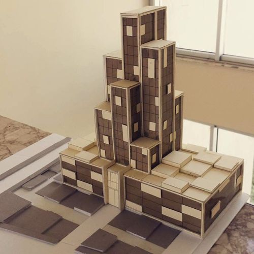 Model by @hady_arch #commercial #building - Architecture and Home Decor - Bedroom - Bathroom - Kitchen And Living Room Interior Design Decorating Ideas - #architecture #design #interiordesign #homedesign #architect #architectural #homedecor #realestate #contemporaryart #inspiration #creative #decor #decoration