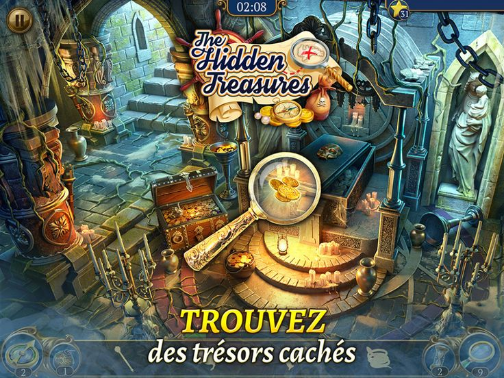 G5 Games Hidden Treasures Objets cachés & jeu de Match