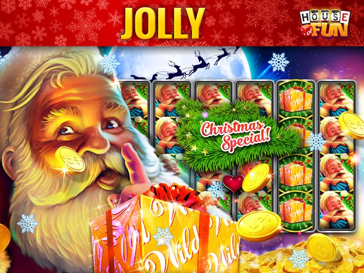 Santa's favorite slot machine to play at festive times! Play House of Fun on: iOS: http://bit.ly/iOS_HOF Android: http://bit.ly/Android_HOF Amazon: http://bit.ly/Amazon_HOF Windows: ttp://bit.ly/Windows_HOF