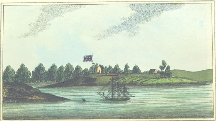 Entrance of Paramatta River by Woodthorpe Pub. March 25, 1803, by M. Jones Paternoster-Row