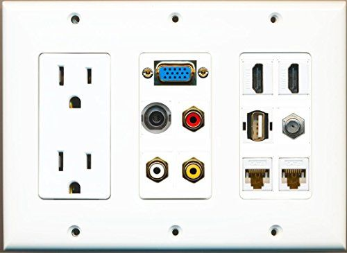 10 Best Custom GFCI Wall Plates 2 Gang By RiteAV Images On