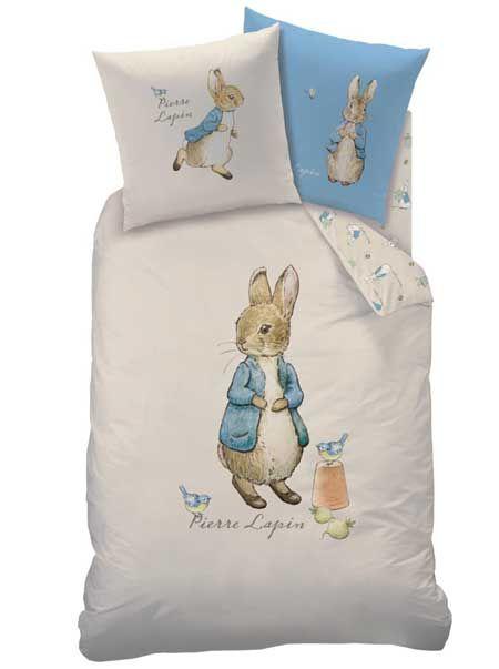Peter Rabbit - Children's French Bedding - Pierre Lapin Aquarelle