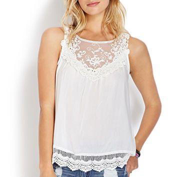Delicate Darling Crocheted Top