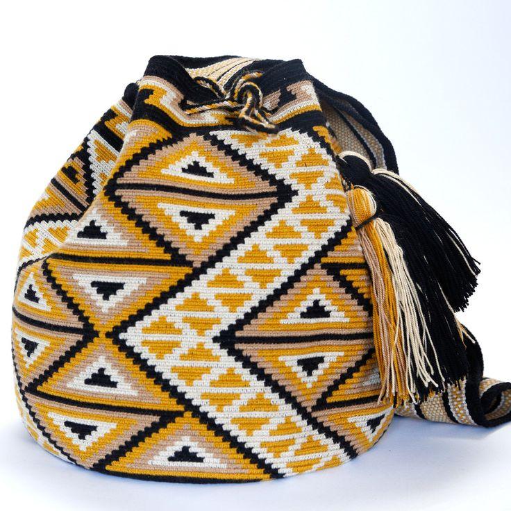 Hermosa Wayuu Mochila Bag | WAYUU TRIBE – WAYUU TRIBE | Handmade Wayuu Mochilas Bags | USA & Global