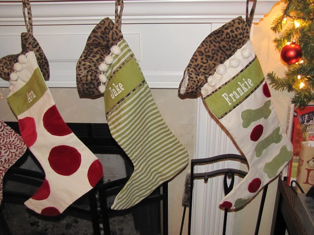 Ballard Design Personalized Christmas Stockings