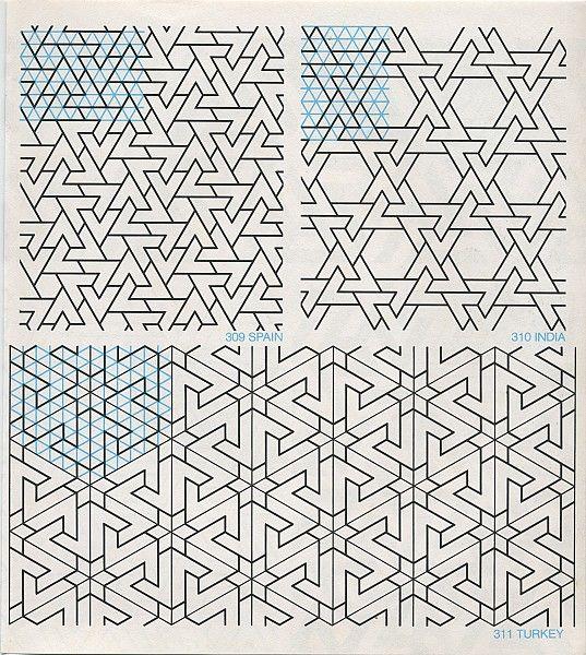 GPB 024 : Geometric Patterns & Borders, David Wade   Pattern in Islamic Art
