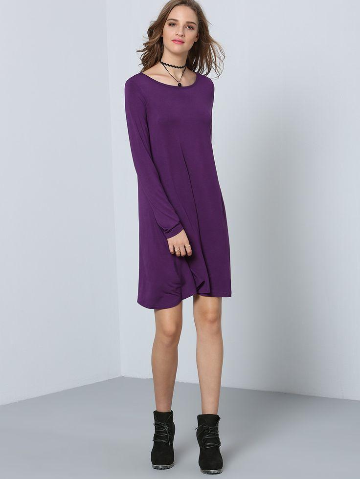 1000 ideas about purple dress casual on pinterest dress