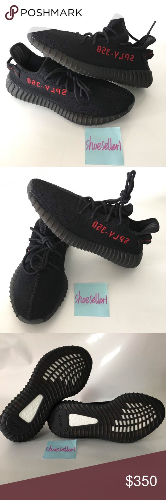 Yeezy Boost V2 Bred Sz 4-13 Brand new authentic Yeezy boost 350 Black with receipt. CP9652 Comes with box and everything Please txt me before ordering Phone # (917) 789-1733 I have good feedback. Seller since 2014 3-5 day shipping Size 5-13 Text before ordering thanks. Yeezy Shoes Sneakers