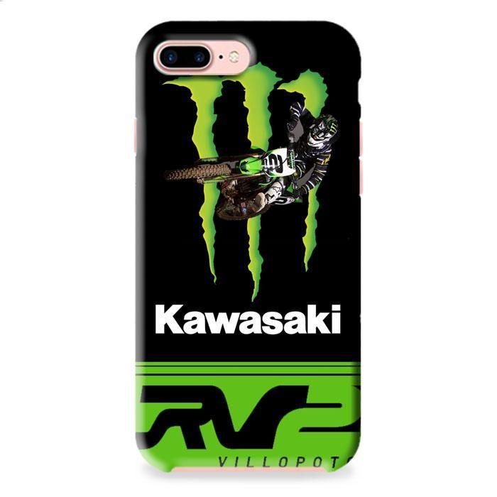 Ryan Villopoto Monster Thor Motocross iPhone 7 3D Case Dewantary