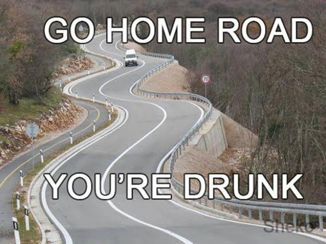 81879945021cdae7132a8b60056a043d drunk memes roads 215 best go home you're drunk images on pinterest funny shit,Go Home Bessie You Re Drunk Meme