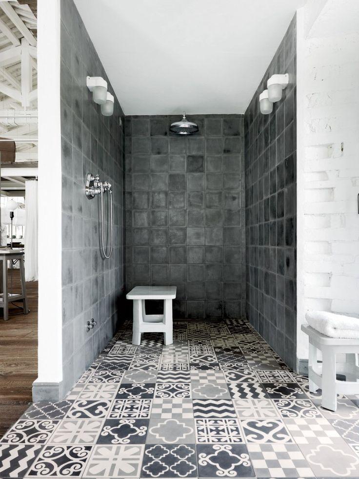 21 idées déco avec des motifs carreaux de ciment