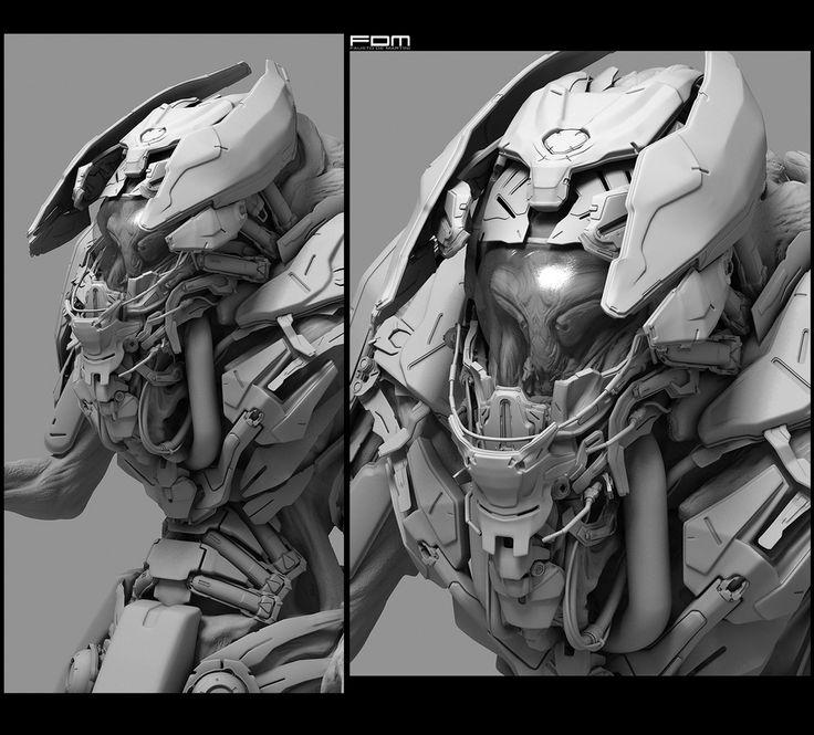Alien Suit by Fausto De Martini | Sci-Fi | 3D | CGSociety