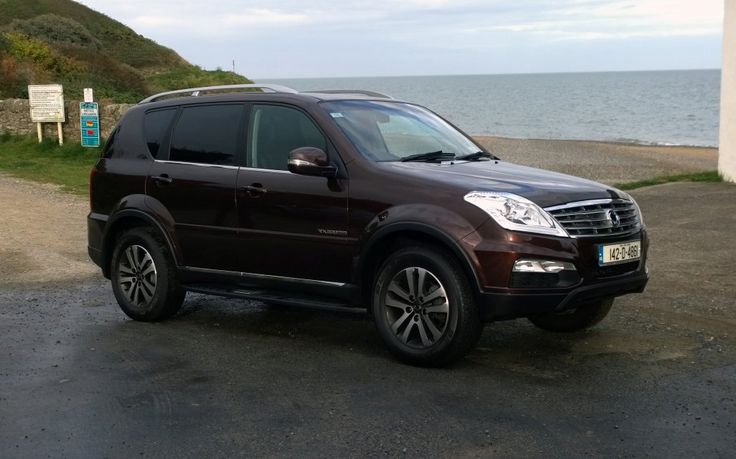 The SsangYong Rexton W is an imposing looking SUV