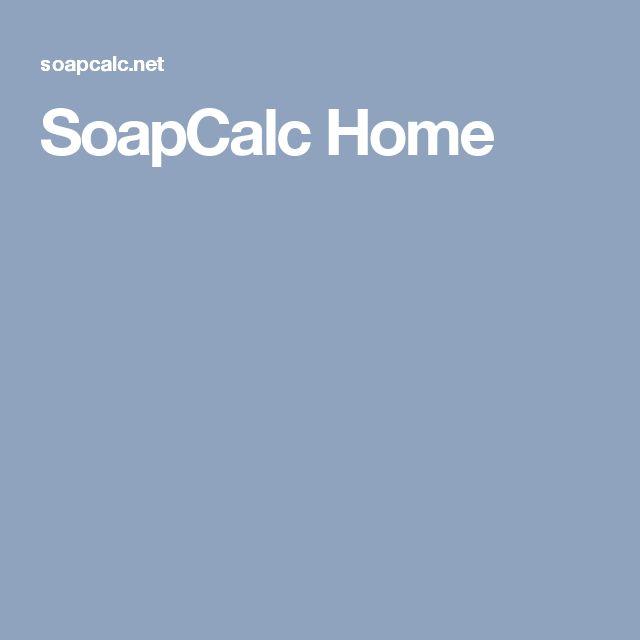 SoapCalc Home