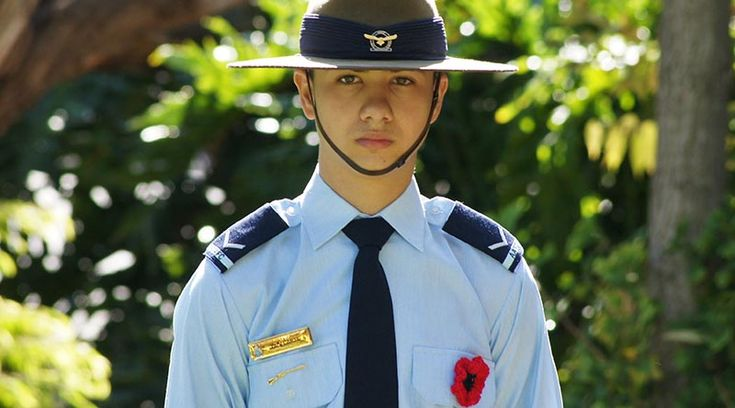 Australian Air Force Cadets : Honouring the Past, Part 2 – Flanders Poppy