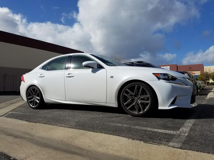 2016 IS350 Lowered On RSR Down Springs #Lexus #car #cars #LFA #Automotive #supergt #RCF