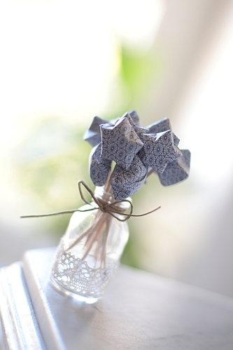 petites étoiles en origami
