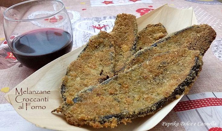 Melanzane+Croccanti+al+Forno+(ricetta+velocissima)