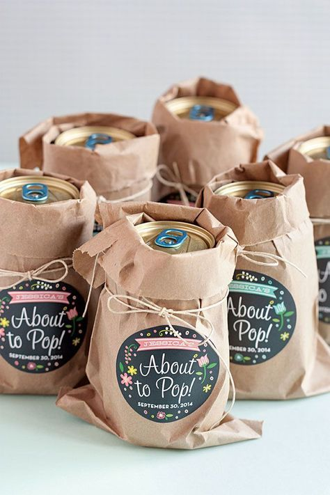 3 Easy Baby Shower Favor Ideas