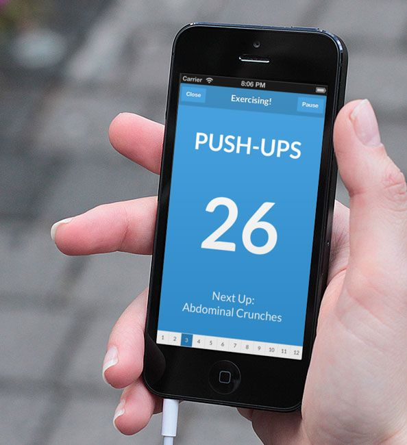 Good-Bye, Gym Membership! Try This 7-Minute Workout App Instead | InStyle.com The premise is that you can get the same benefits from the things you have around your house that you can from the equipment at the gym--and all in under seven minutes.