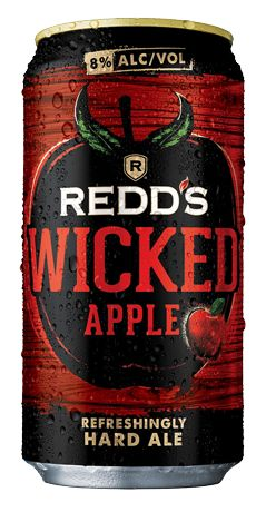 Redd's Wicked Apple is a hard ale that amplifies Redd's crisp apple flavor for an experience that starts strong and finishes smooth