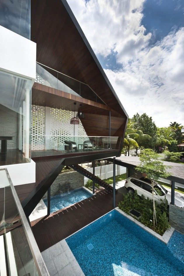 A D Lab Designed The Contemporary Renovation For This House In Singapore. Architecture  DesignResidential ...