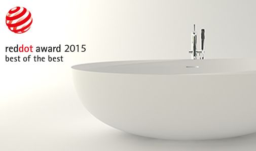 Our I Bordi Bathtub wins the Red Dot Best of the Best. It's the second time our company design wins this important award! So happy #Reddot #Design #Bathroom