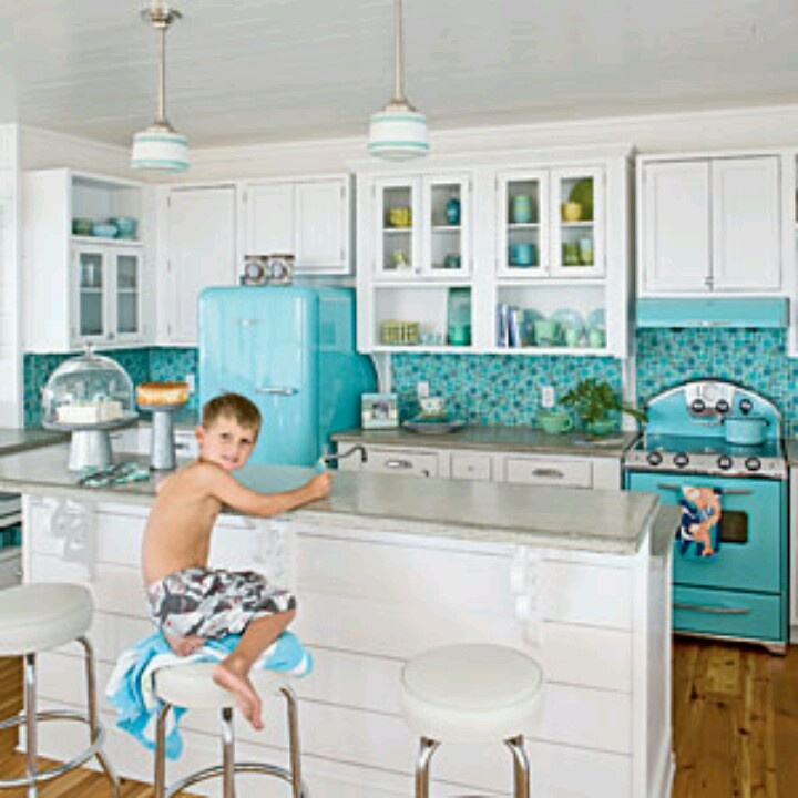 Best Blue Kitchens Images On Pinterest Dream Kitchens Home