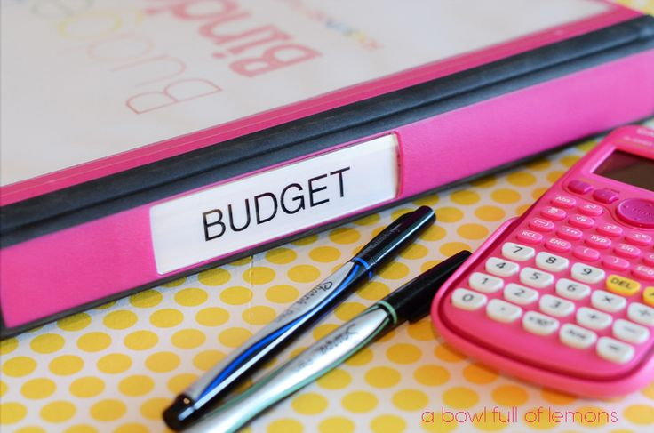 Creating a Household Budget -  A Bowl Full of Lemons Great printables to get your budget organized