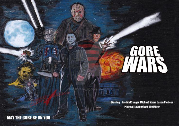 Gore Wars - Star Wars parody poster by andrewoonline on DeviantArt