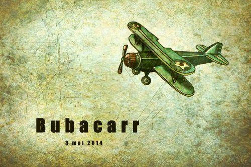 Geboortekaartje jongen - vliegtuig - Pimpelpluis - https://www.facebook.com/pages/Pimpelpluis/188675421305550?ref=hl (# vliegtuig - stoer - vintage - retro - origineel)