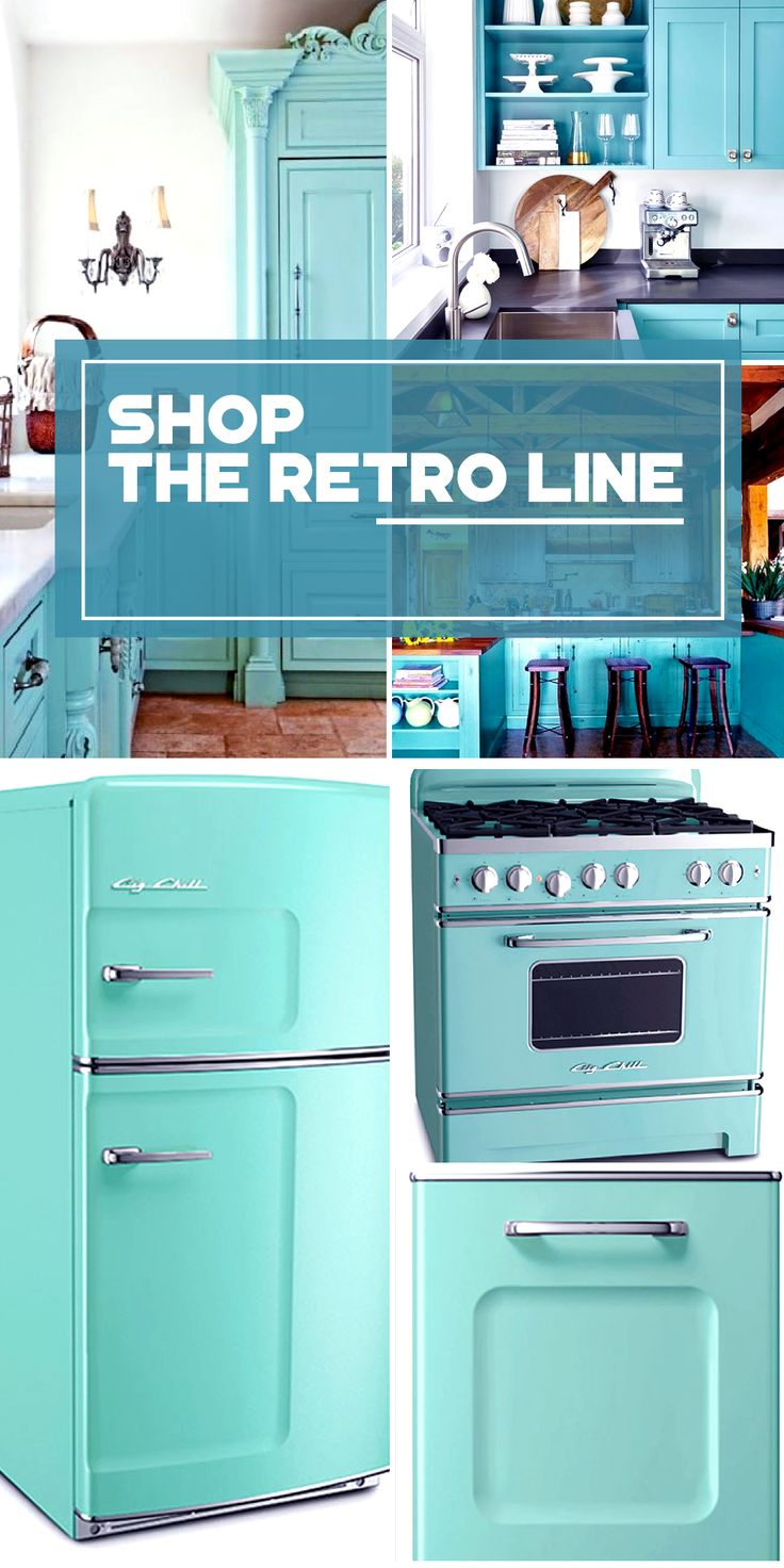 The Retro Kitchen Appliance Product Line Click Colors
