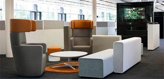 Futuristic Furniture | Modern and futuristic office Furniture Design, Parcs by PearsonLloyd