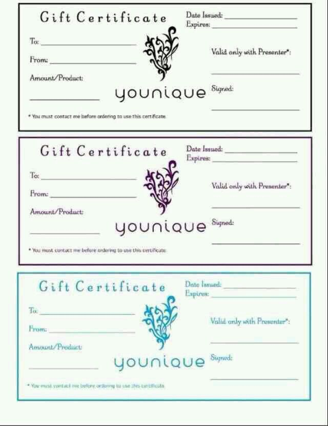 34 best Открытки_приглашения images on Pinterest Christmas - fresh younique gift certificate template